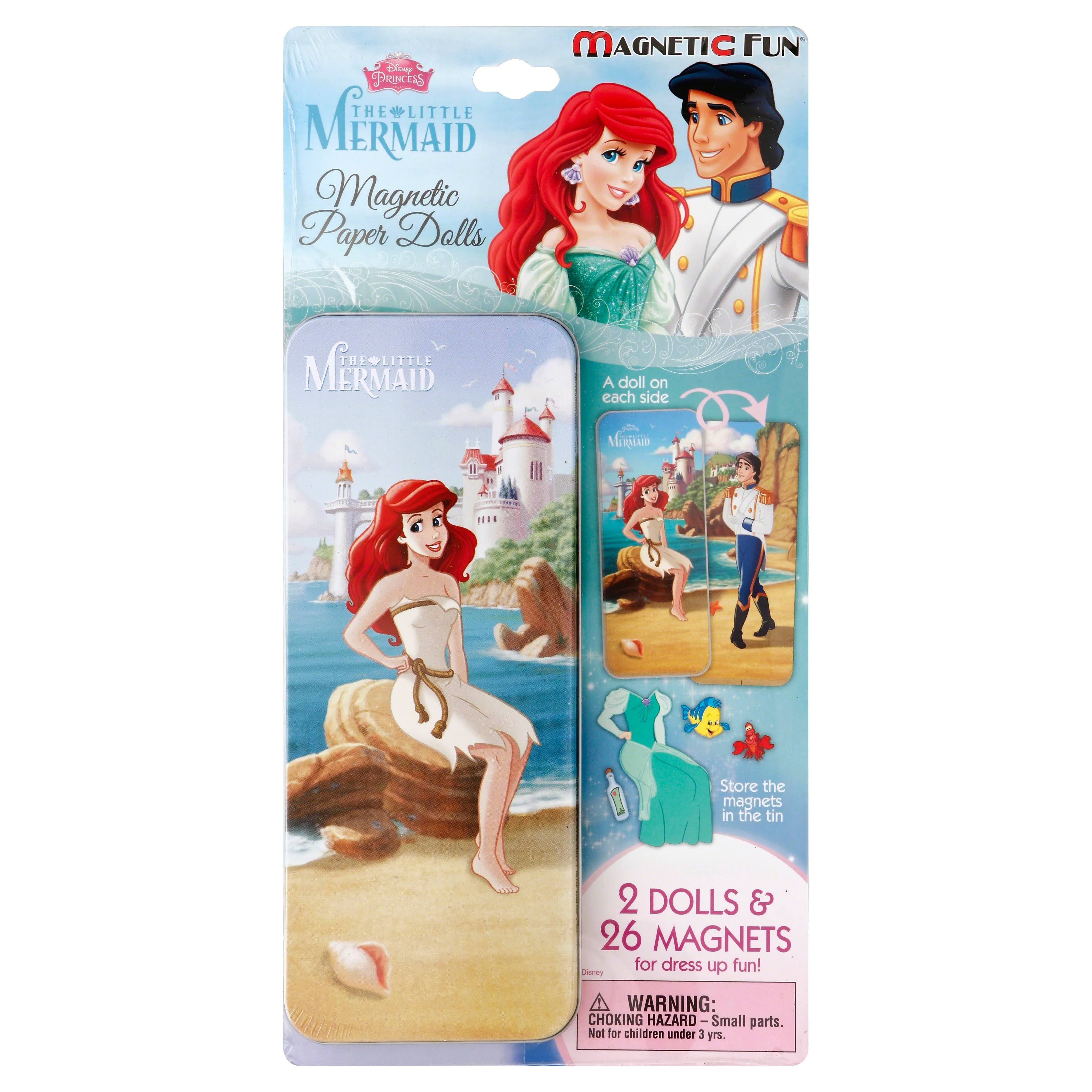 Magnetic Paper Dolls Travel Tin - The Little Mermaid