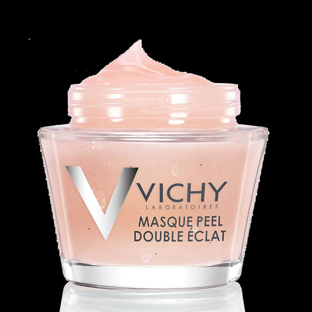 Vichy Peel Mask, Double Glow, with Volcanic Rock and AHA - 75 ml