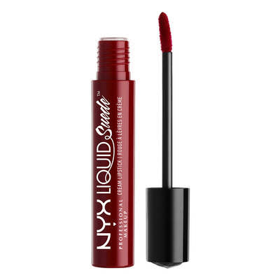 NYX Liquid Suede Cream Lipstick - Cherry Skies