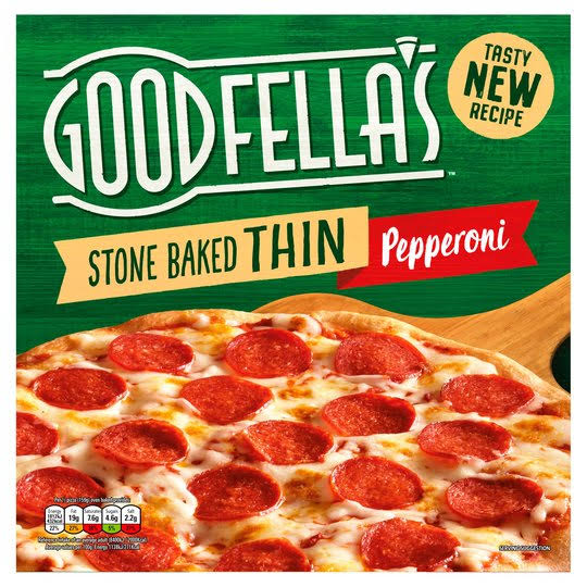 Goodfella's Stone Baked Thin Pizza - Pepperoni, 340G
