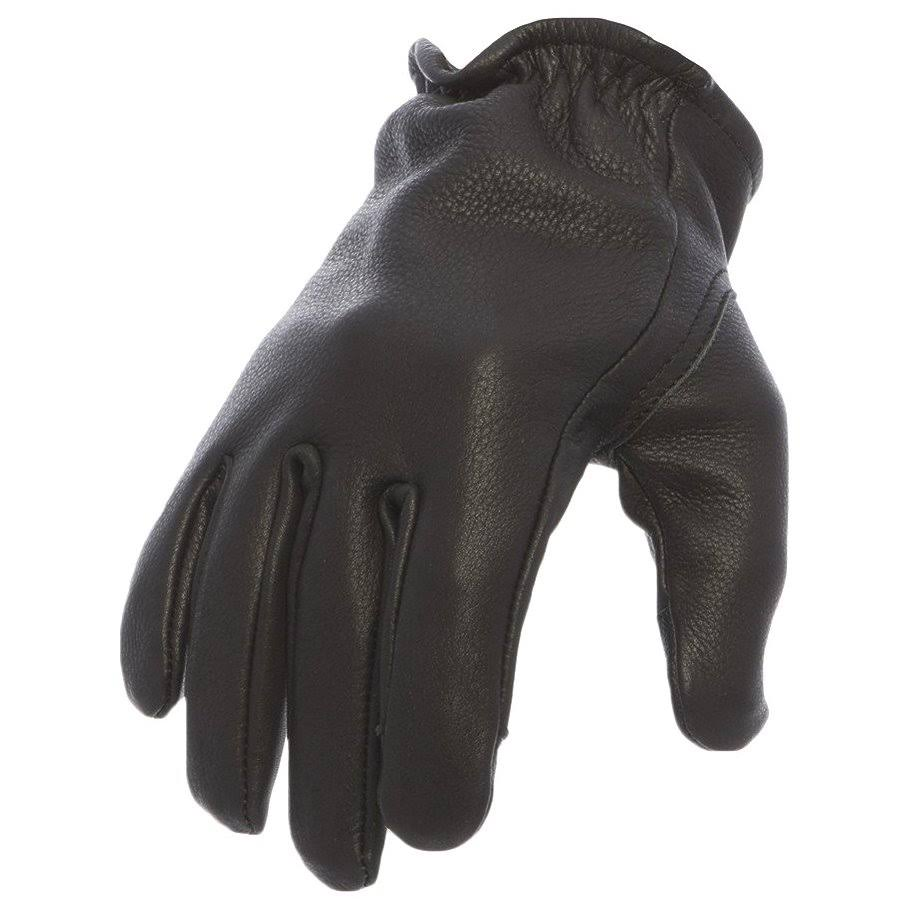 First Manufacturing Men's Roper Motorcycle Gloves - Black, Large