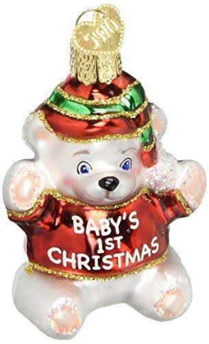 Old World Christmas Baby's First Christmas Ornament