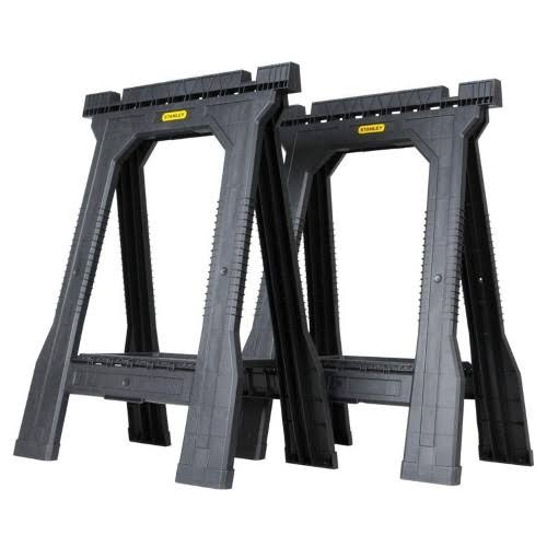 Stanley Jr Folding Sawhorse - 2 Pack