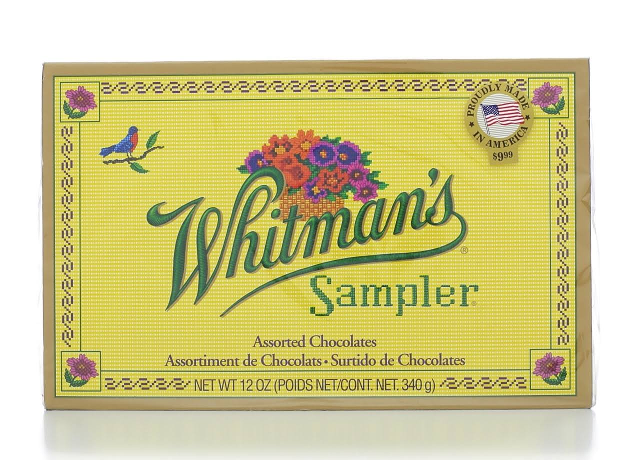 Whitman's Sampler Assorted Chocolates - 12oz