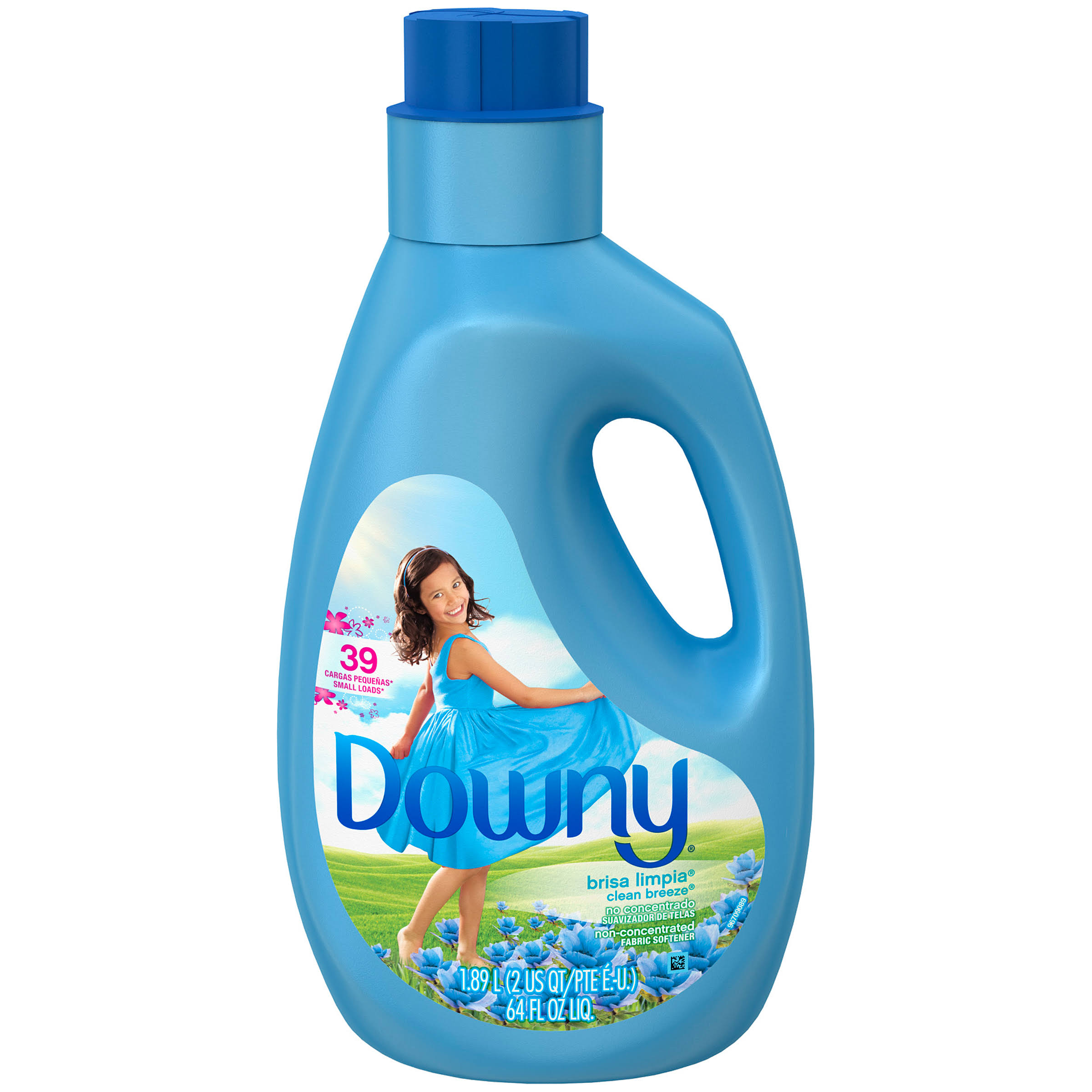 Downy Fabric Softener - Clean Breeze, 64oz