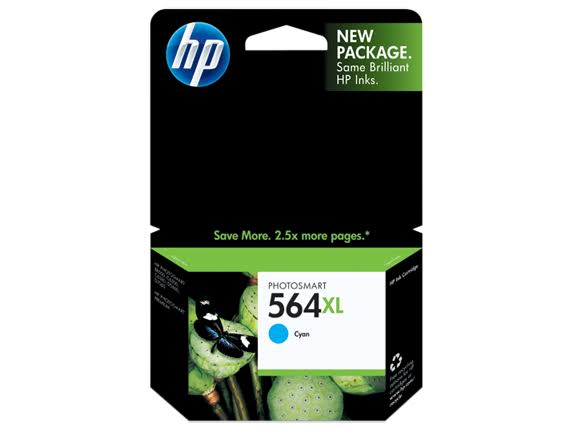 HP 564XL Cyan High Yield Original Ink Cartridge