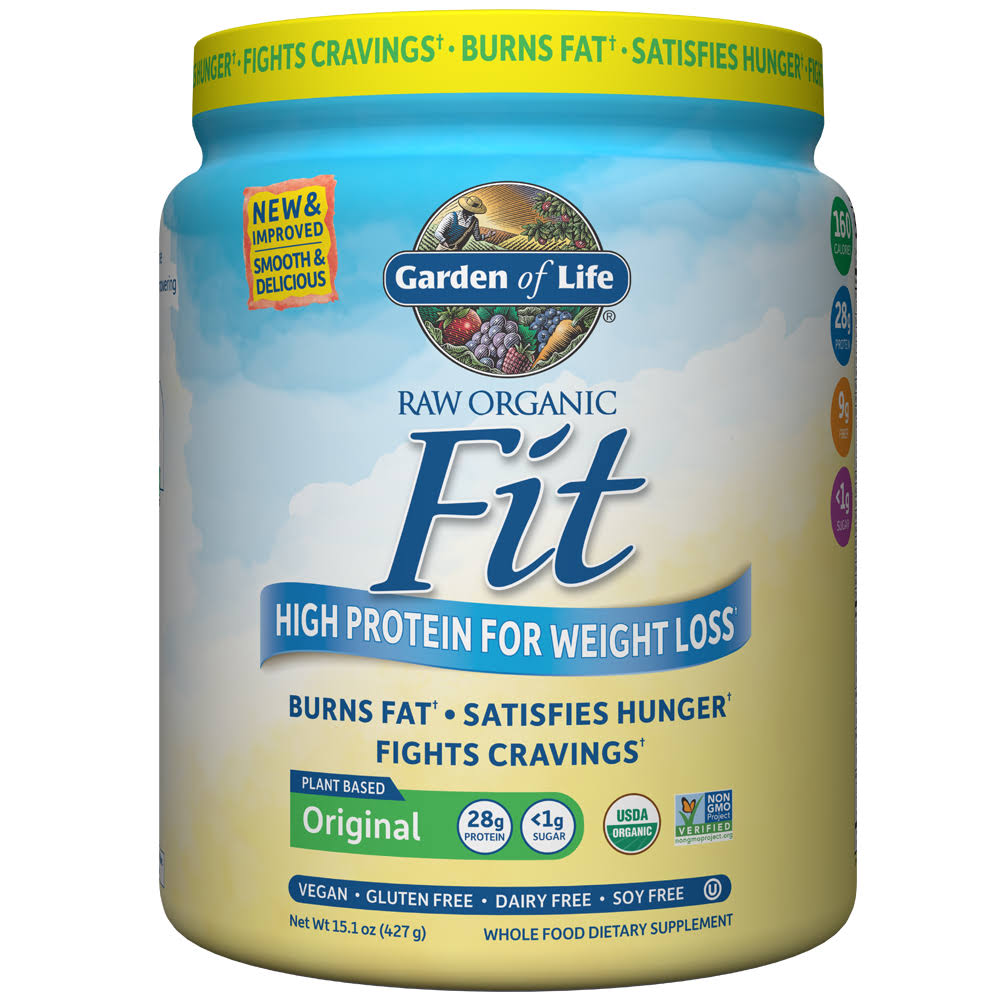 Garden of Life Raw Fit High Protein for Weight Loss - 451g