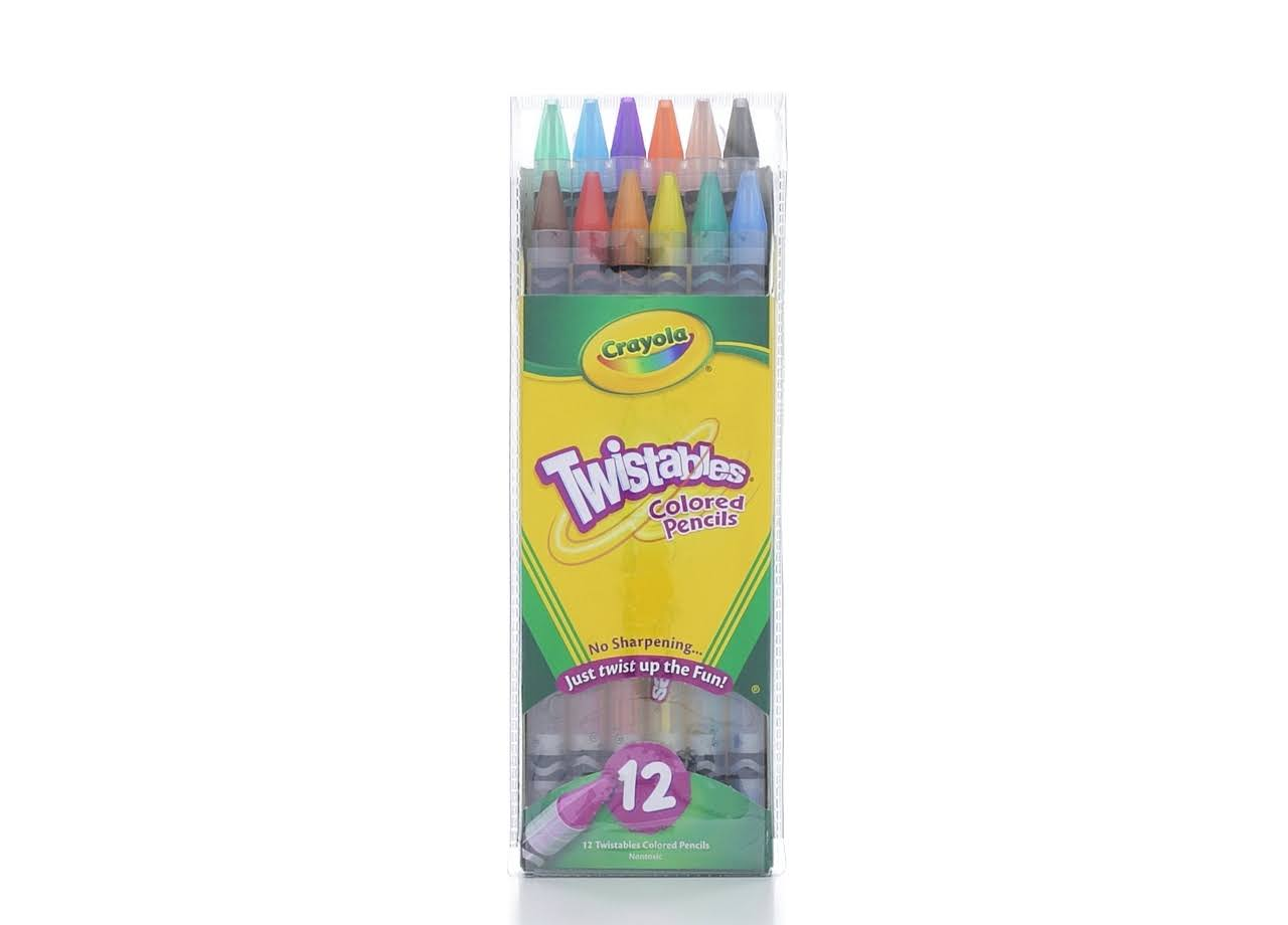 Crayola Twistables Colored Pencils - 12pk