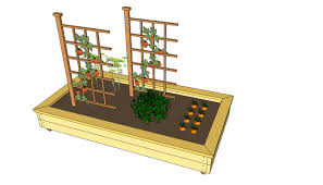 outdoor planter box plans free friendly woodworking projects