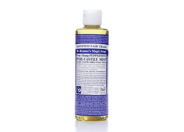 Dr Bronners Soap, Pure-Castile, 18-In-1 Hemp Peppermint - 8 fl oz