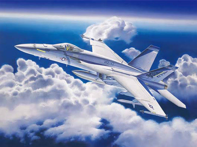 Trumpeter 1/32 F/a18e Super Hornet Fighter Model Kit