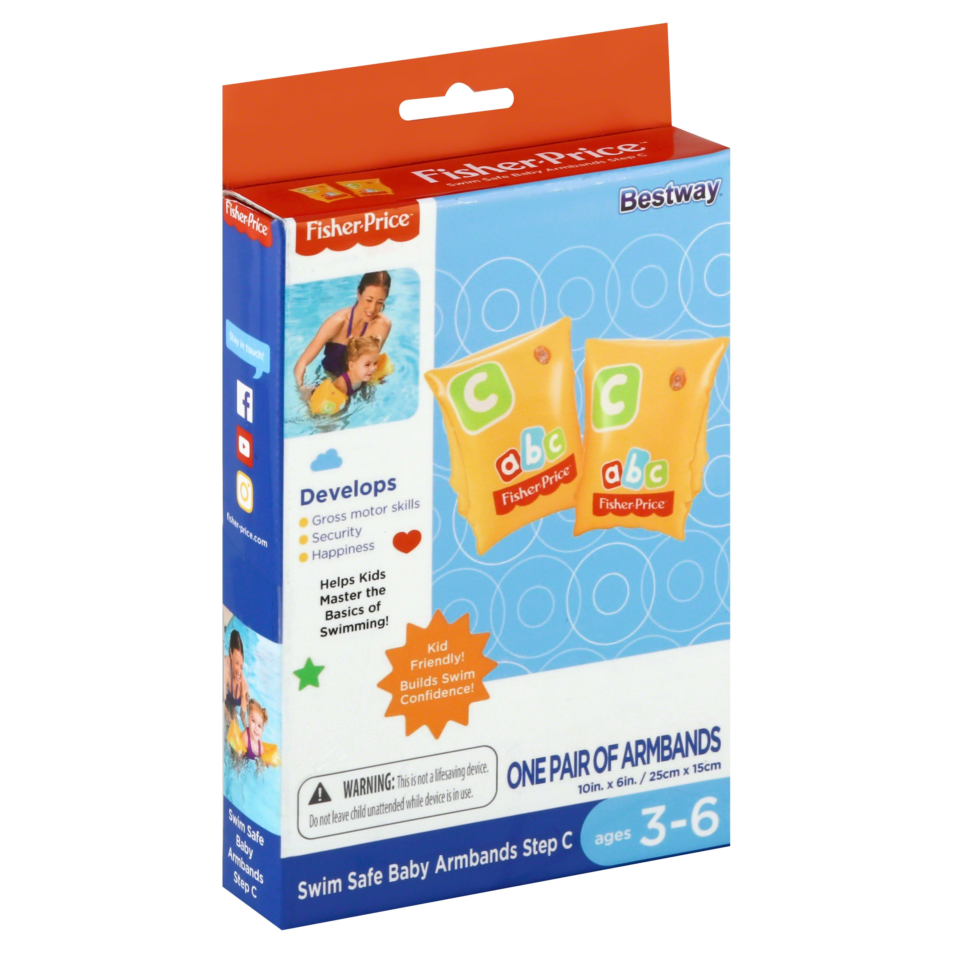 Bestway Armbands, Baby, Swim Safe, Step C