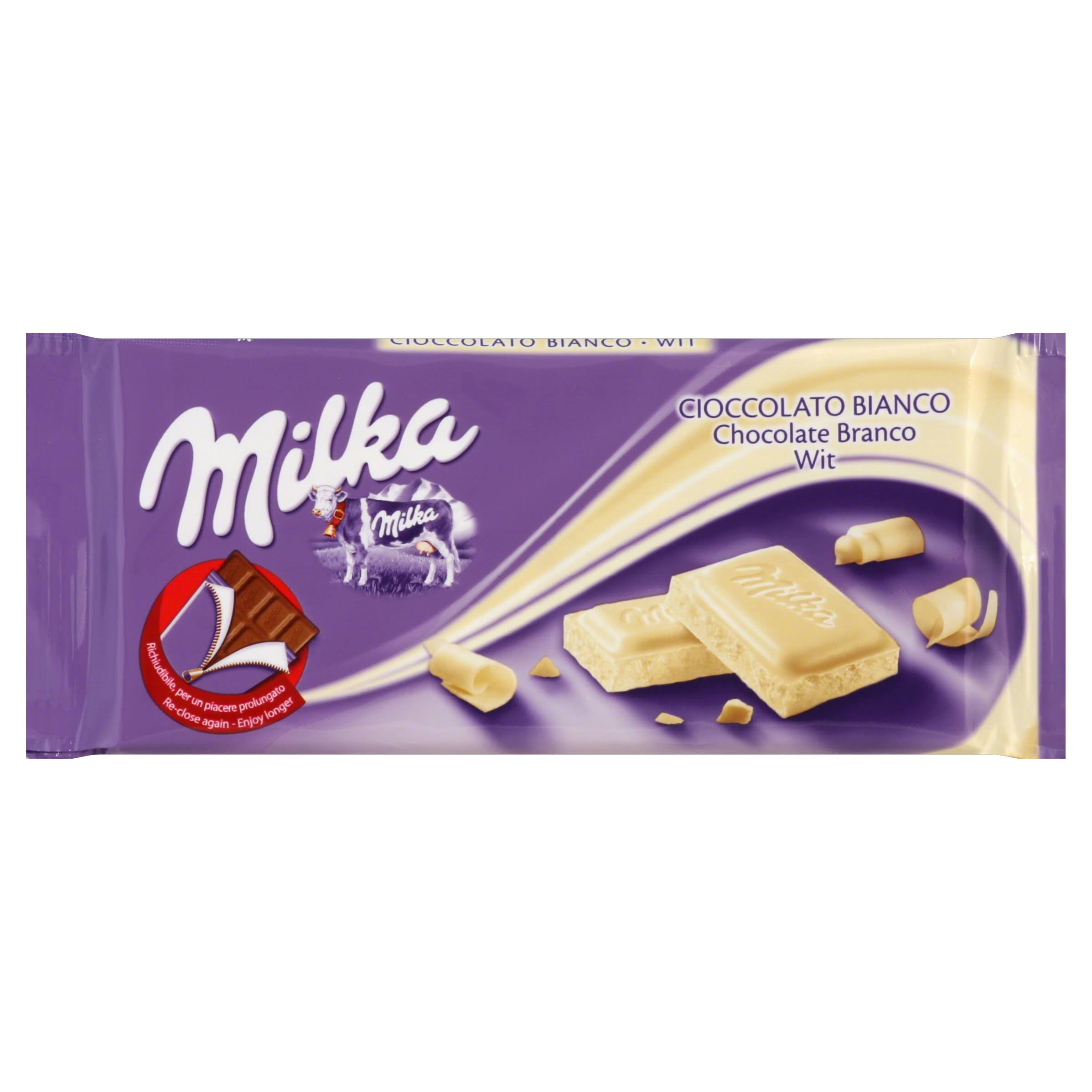 Milka White Chocolate - 100g