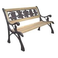 cast iron bench ebay