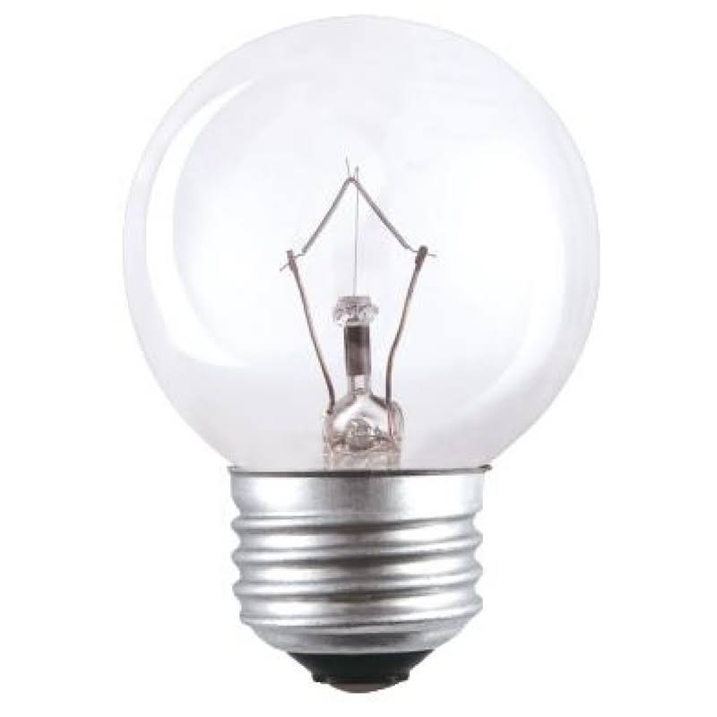 Westinghouse 03240 G16.5 Dimmable Globe Incandescent Bulb, Warm White, 180 Lumens, 25 Watts