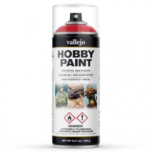 Vallejo Hobby Paints Spray - Bloody Red, 400ml