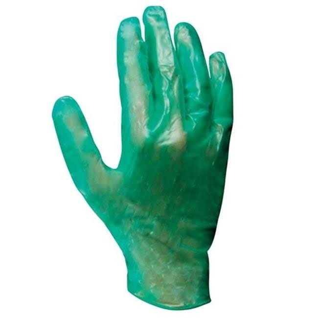 Soft Scrub Disposable Vinyl Gloves - Green