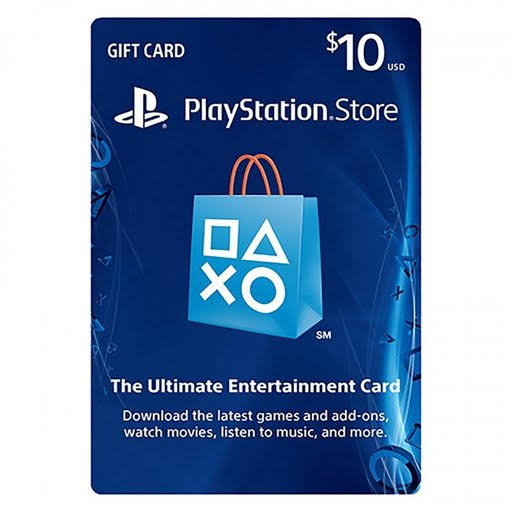Sony PlayStation PSN Card 10$
