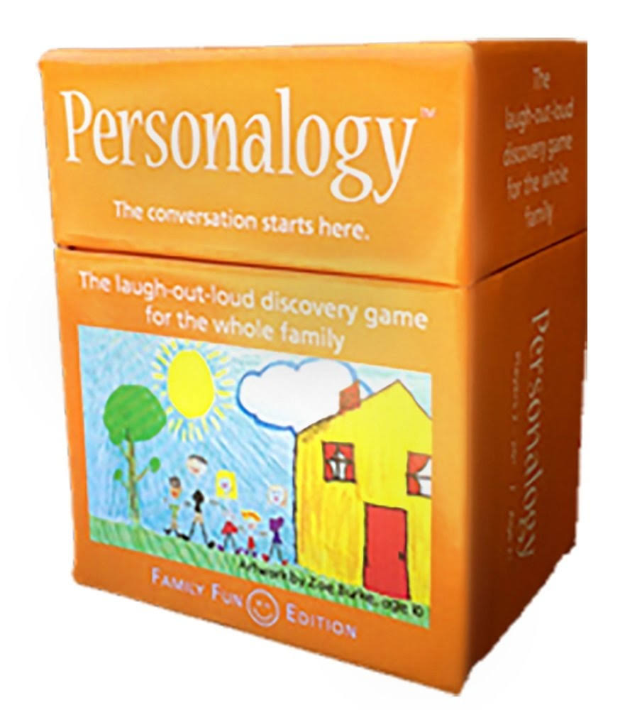 Personalogy Family Fun Card Game The Laugh Out Loud Discovery