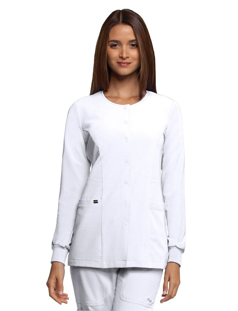 Grey's Anatomy Signature Scrubs Warm-Up Jacket - L - White