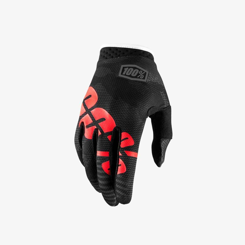 100 Percent iTrack Kids MX Gloves - Black Camo