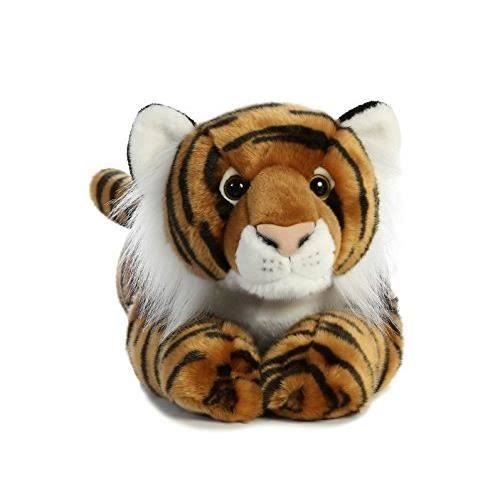 Aurora Plush Bengal Tiger Super Flopsie Stuffed Animal Toy - 28""