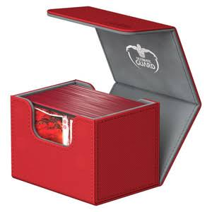 Ultimate Guard: Sidewinder 100+ Deck Box - Red XenoSkin