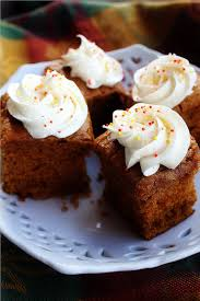 Cake Mix And Pumpkin by Pumpkin Gingerbread Cake With Spiced Cream Cheese Frosting