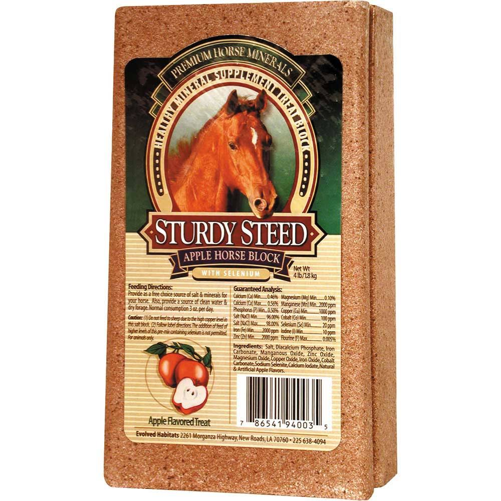HerdLife Sturdy Steed Premium Horse Minerals - Candy Apple, 4 lb