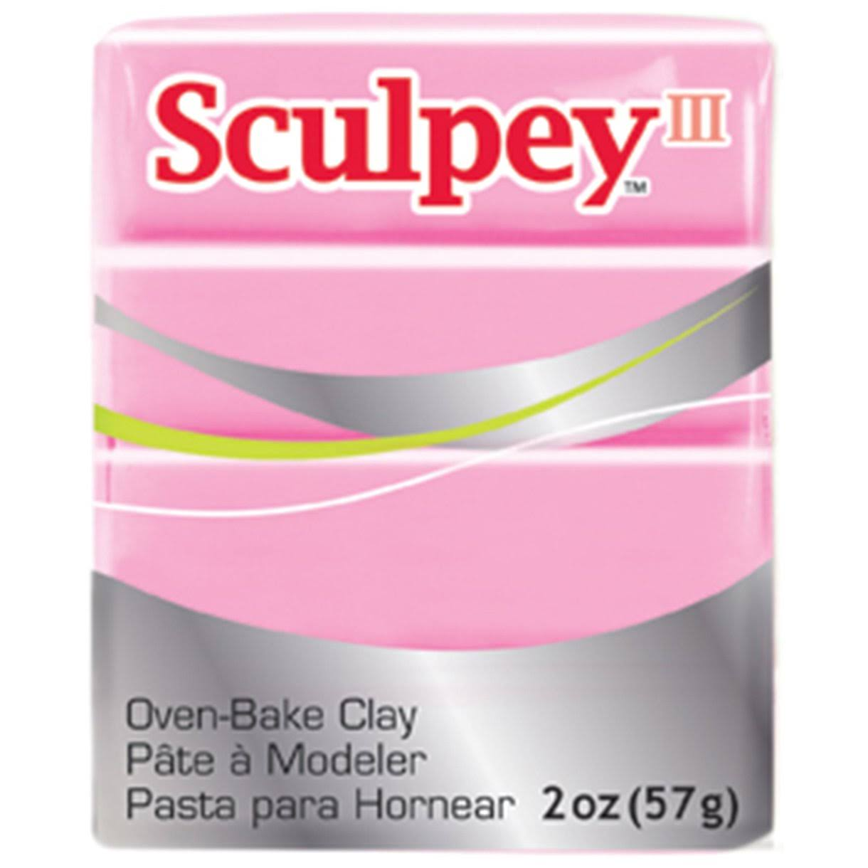 Sculpey III Polymer Clay - Dusty Rose, 2oz