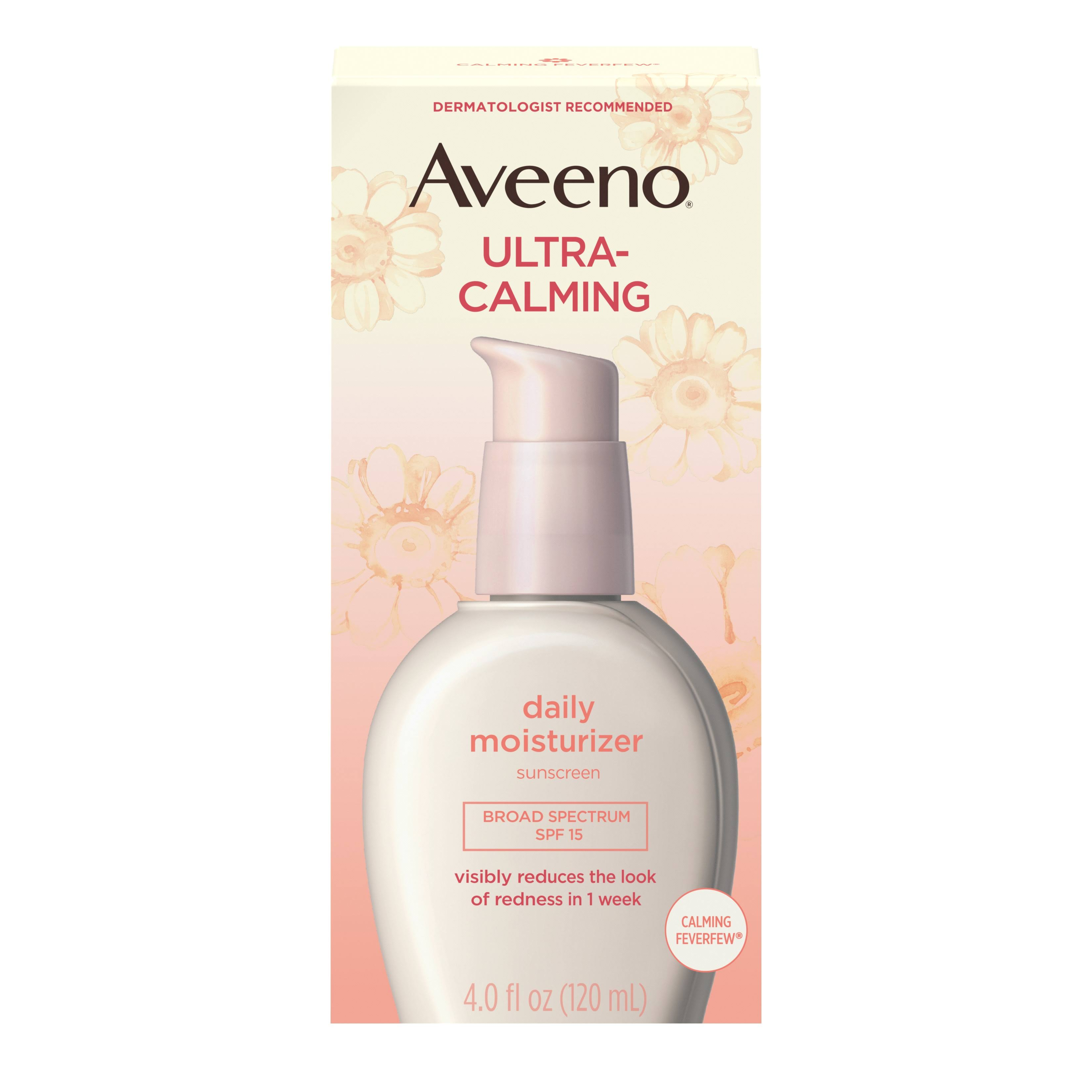 Aveeno Active Naturals Daily Moisturizer with Sunscreen Broad Spectrum SPF 15 - 4oz