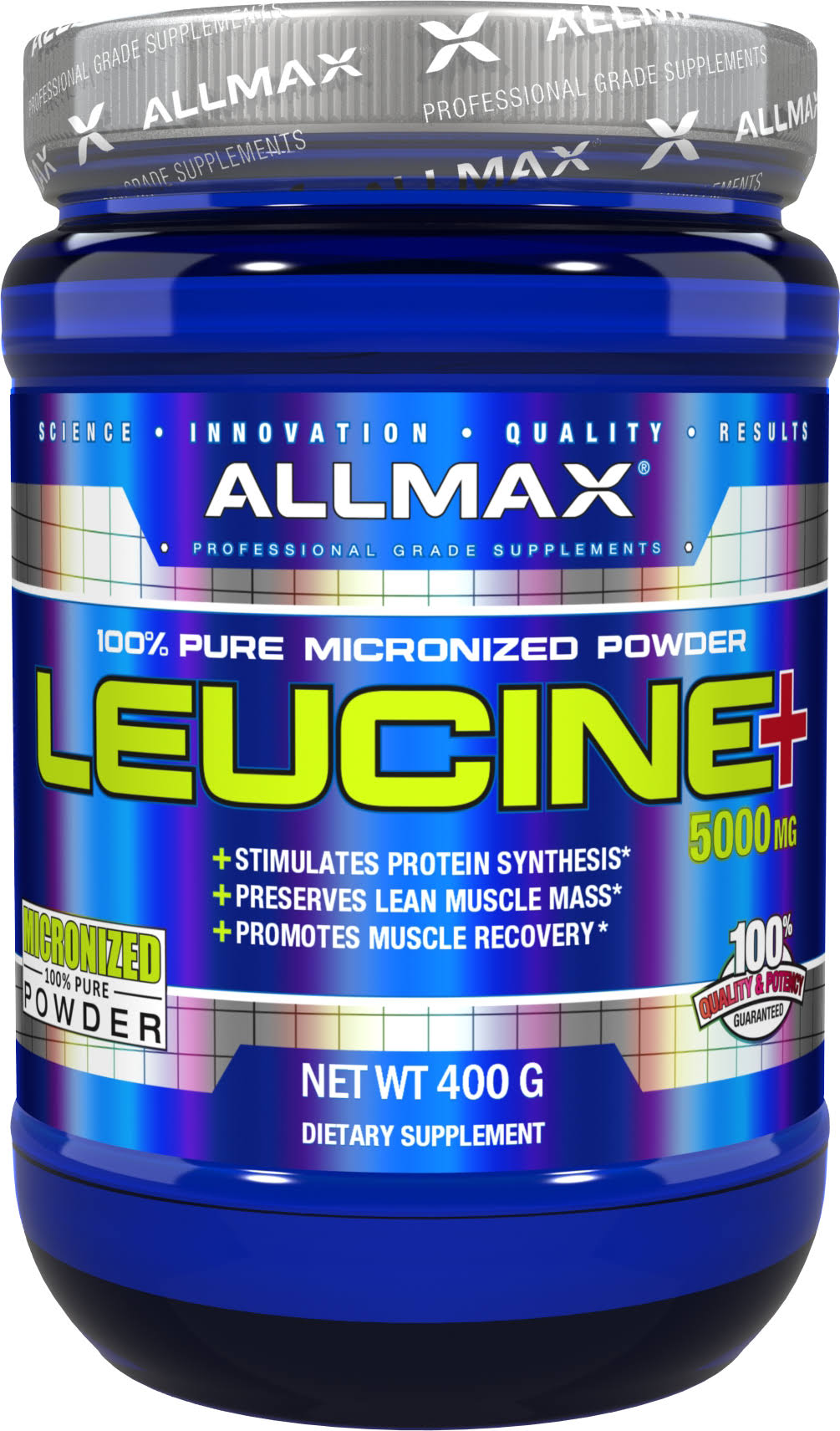 Allmax Nutrition Leucine Sports Supplement Powder - 400g
