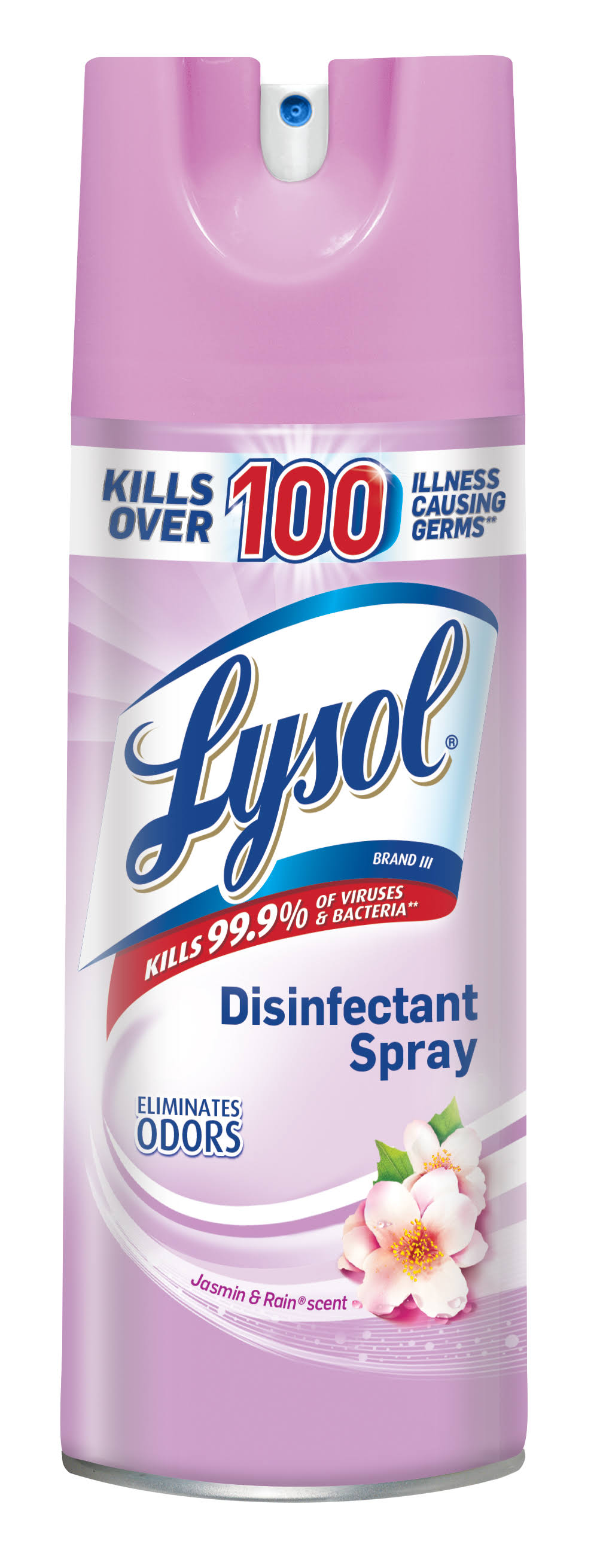 Lysol Disinfectant Spray - Jasmine and Rain, 12.5oz