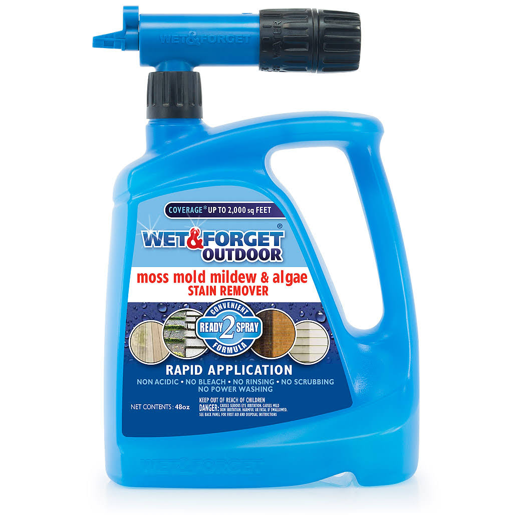 Wet and Forget Hose End Outdoor Cleaner - 48oz