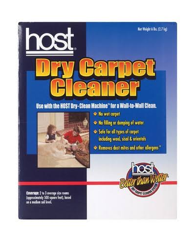Racine Host Dry Carpet Cleaner
