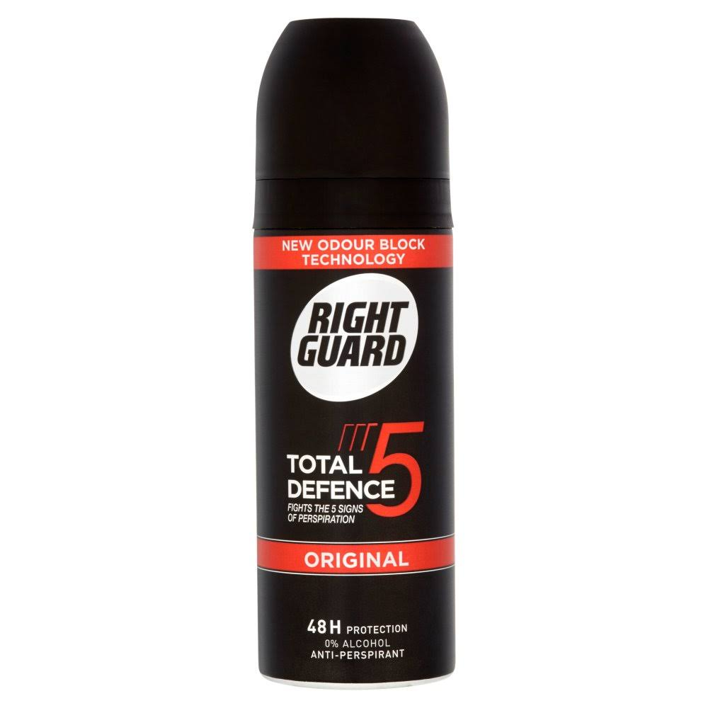 Right Guard Mens 3D Protection Anti-Perspirant - Original, 150ml