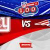 New York Giants vs New England Patriots NFL en vivo y en directo ...