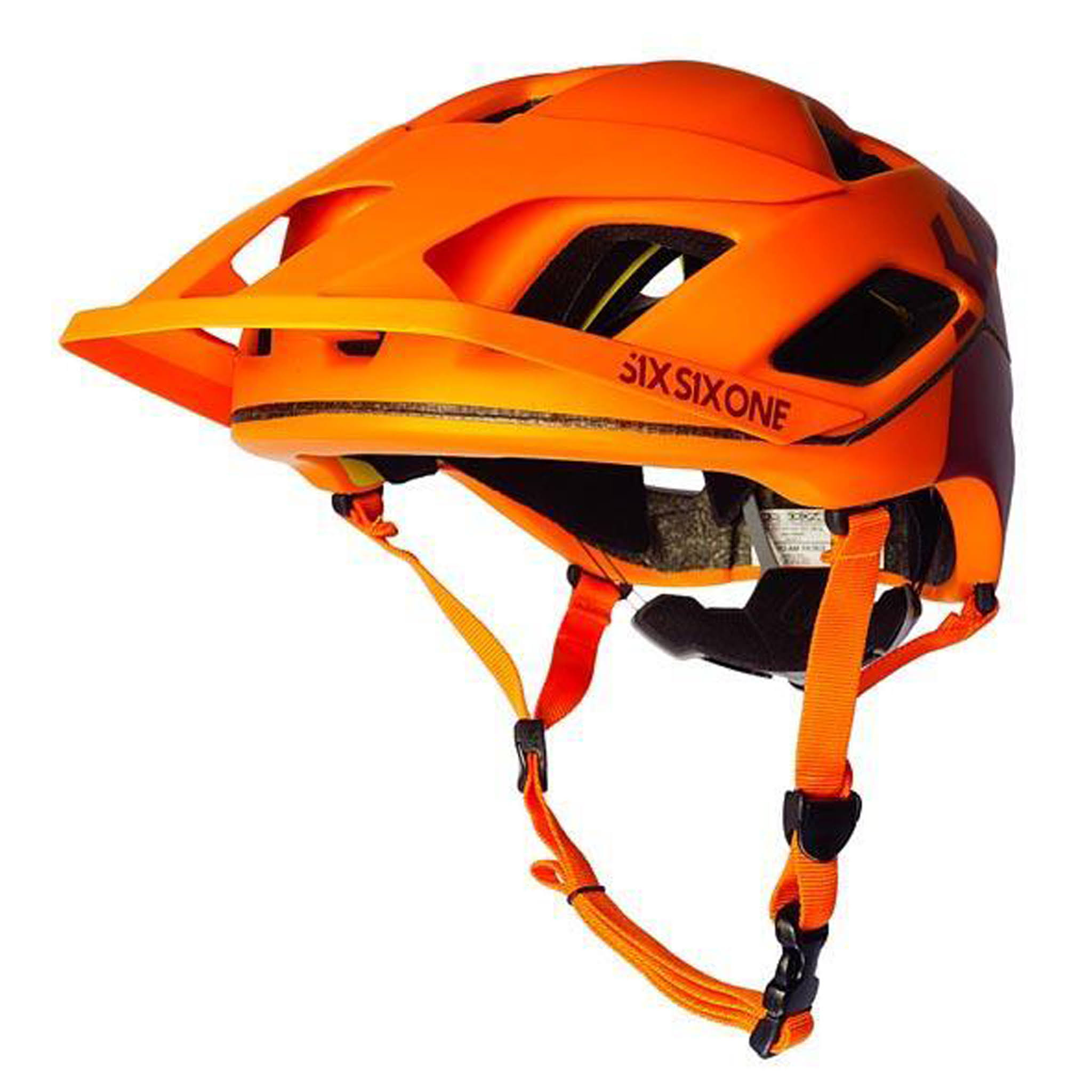 SixSixOne Evo Am Patrol MIPS Helmet Orange - M/L