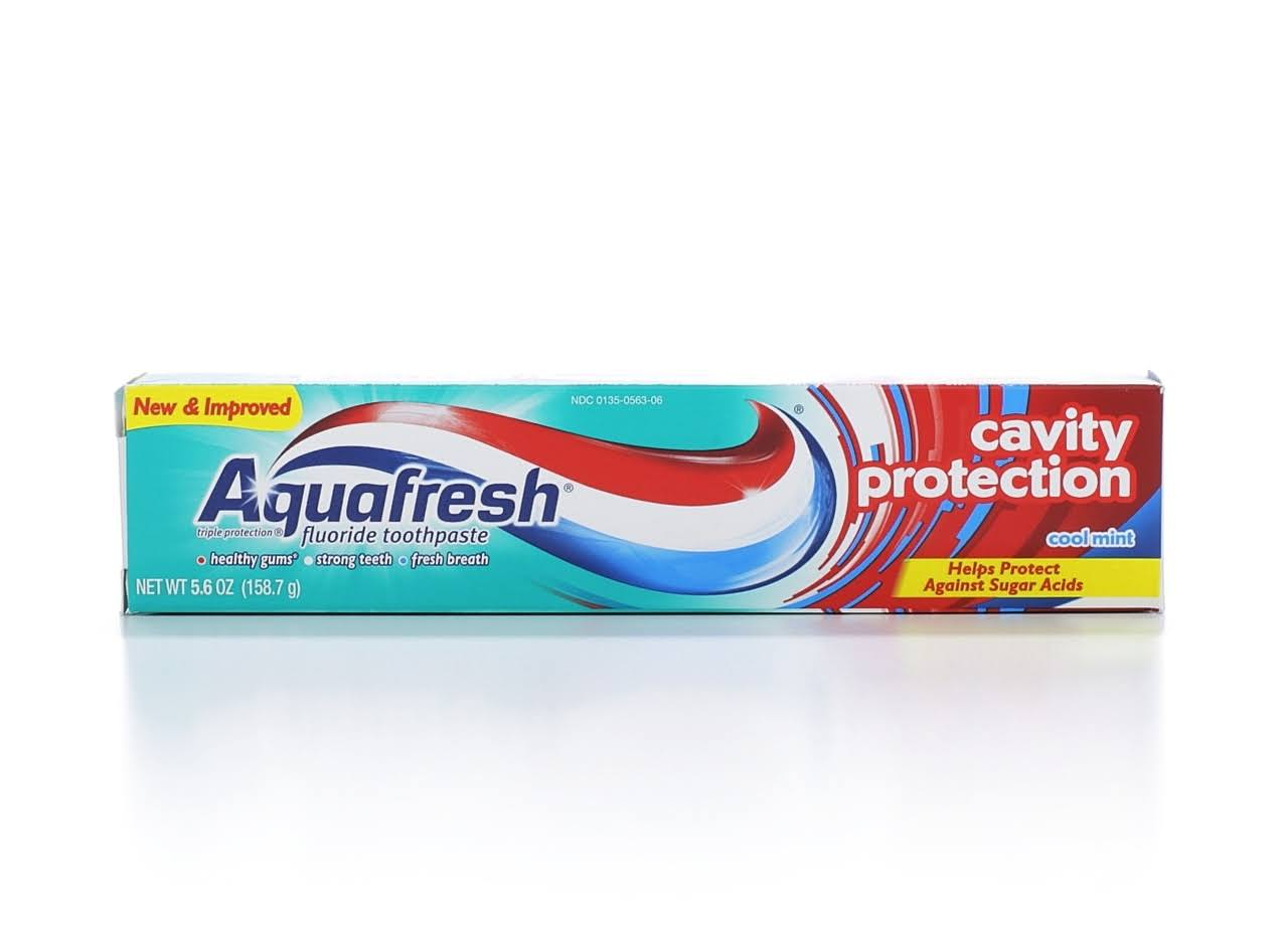 Aquafresh Cavity Protection Toothpaste - Cool Mint, 158.7g