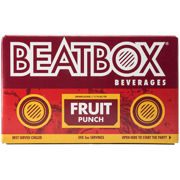 Beatbox 34 Drinks in a Box