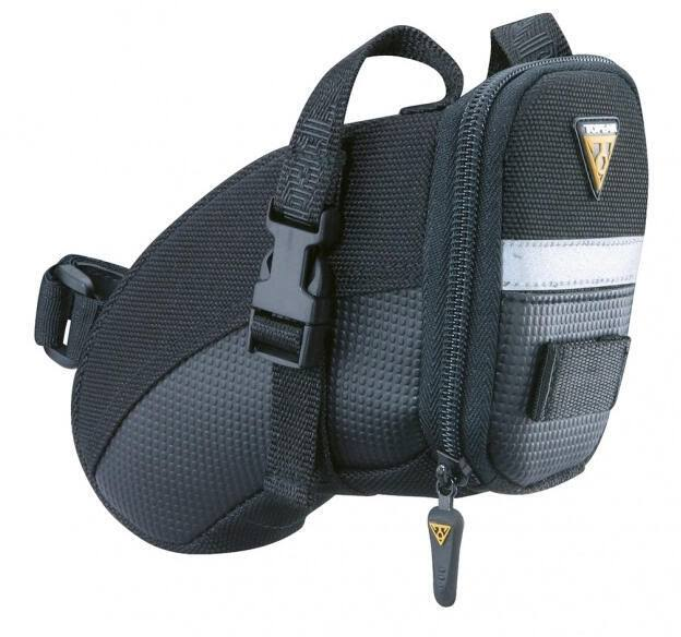Topeak Small Aero Wedge Bicycle Saddle Bag with Velcro Straps