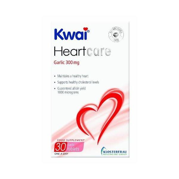 Kwai Heart Care Garlic Dietary Supplement - 300mg, 30ct