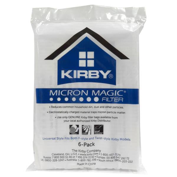 Kirby Universal Fit Cloth Vacuum Bags (6pk)