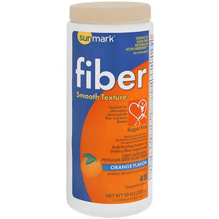 Sunmark Fiber Laxative - Orange