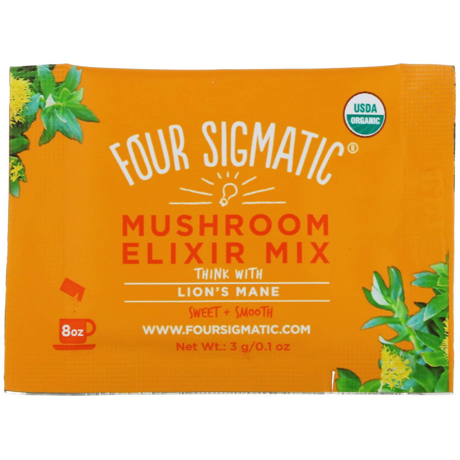 Four Sigmatic Lion's Mane Mushroom Elixir Mix - 20 Packets