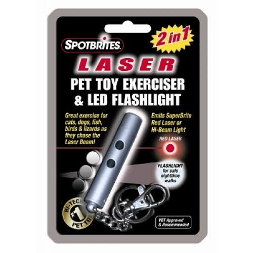 Ethical Products Sportbrites Laser Pet Toy Exerciser & Led Flashlight