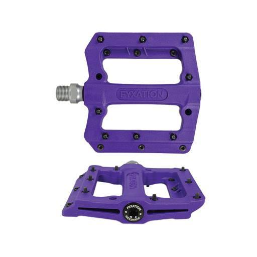 Fyxation Mesa MP Nylon Thin Platform Pedal, Purple Pd3062