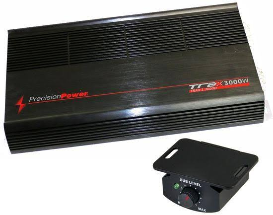 Precision Trax13000d Power 3000W Car Amplifier