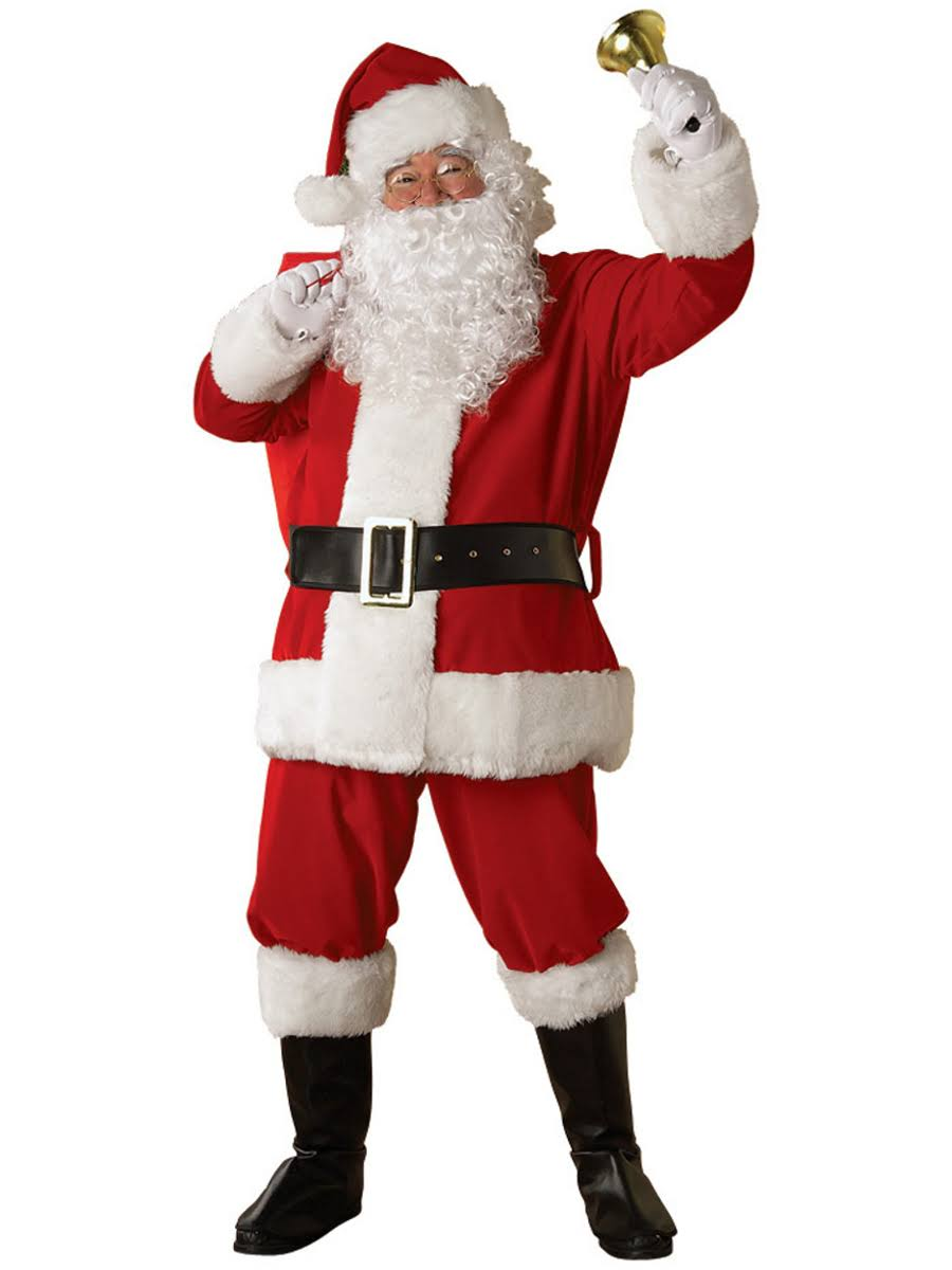 Regency Santa Suit XL Adult Costume