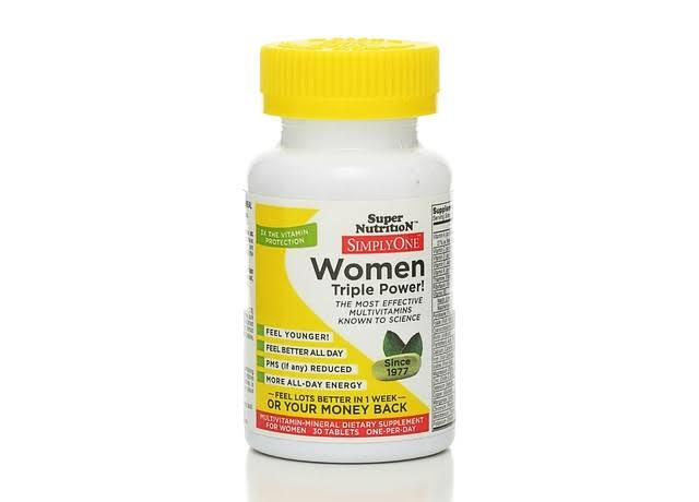 Super Nutrition Simply One Women Dietary Supplement - 30 Tablets